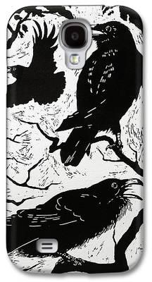 Raven Galaxy S4 Cases
