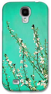 Cherry Blossoms Galaxy S4 Cases