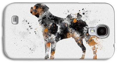 Dog Mixed Media Galaxy S4 Cases
