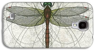 Nature Study Mixed Media Galaxy S4 Cases