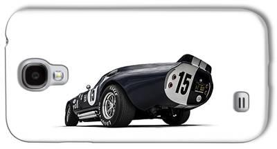 Automotive Digital Art Galaxy S4 Cases