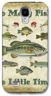 Smallmouth Bass Galaxy S4 Cases
