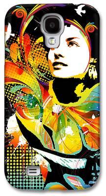 Nostalgic Digital Art Galaxy S4 Cases