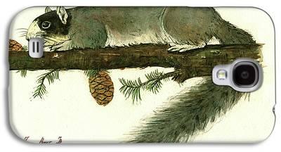 Fox Squirrel Galaxy S4 Cases