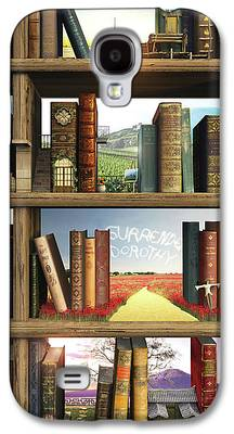 Kids Books Galaxy S4 Cases