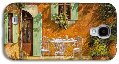 Cafes Paintings Galaxy S4 Cases