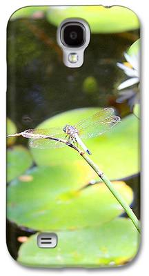 Nature Center Pond Paintings Galaxy S4 Cases