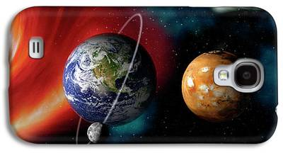 Planets Galaxy S4 Cases