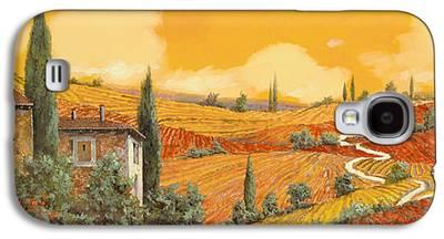 Wine Scene Galaxy S4 Cases