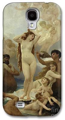 Goddess Mythology Paintings Galaxy S4 Cases