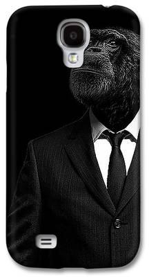Chimpanzee Galaxy S4 Cases