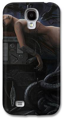 Mechanism Paintings Galaxy S4 Cases