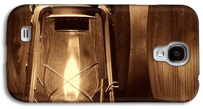 Old Rustic Barn And Barrel Galaxy S4 Cases