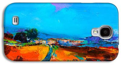 Tuscan Sunset Paintings Galaxy S4 Cases