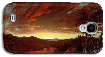 Wilderness Paintings Galaxy S4 Cases