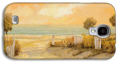 Fence Paintings Galaxy S4 Cases