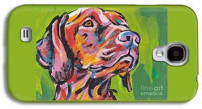 Dog Paintings Galaxy S4 Cases
