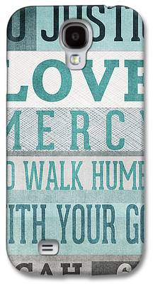 Bible Quotes Galaxy S4 Cases