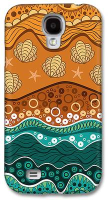 Abstract Digital Drawings Galaxy S4 Cases