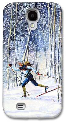 Canadian Sports Paintings Galaxy S4 Cases