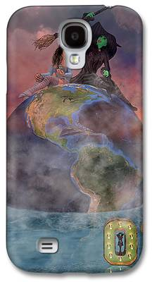 Mystic Setting Digital Art Galaxy S4 Cases