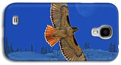 Red Tail Hawks Galaxy S4 Cases