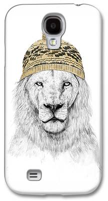 Lion Galaxy S4 Cases