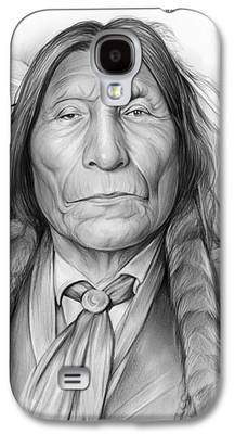 Robe Drawings Galaxy S4 Cases