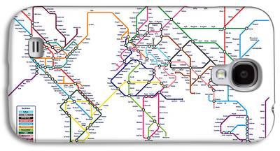 London Tube Galaxy S4 Cases