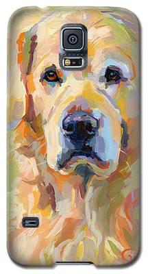 Golden Retriever Galaxy S5 Cases