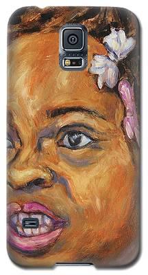 Girl With Dread Locks Galaxy S5 Case