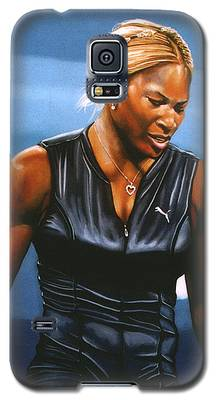 Serena Williams Galaxy S5 Cases