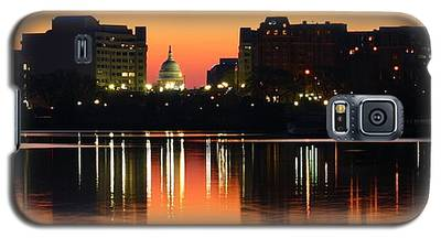 Sunrise Over The Capitol-2 Galaxy S5 Case