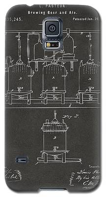 1873 Brewing Beer And Ale Patent Artwork - Gray Galaxy S5 Case