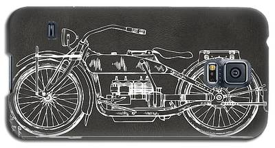 1919 Motorcycle Patent Artwork - Gray Galaxy S5 Case
