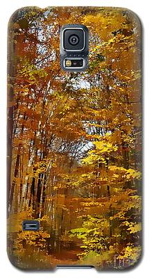 Golden Autumn Galaxy S5 Case