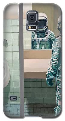 Astronauts Galaxy S5 Cases