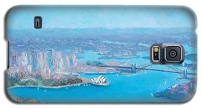 Sydney Harbour And The Opera House Aerial View  Galaxy S5 Case
