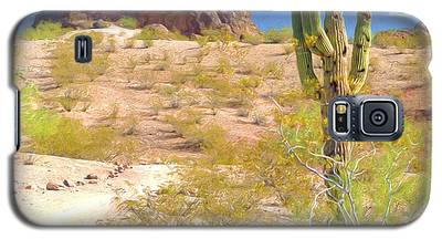 A Cactus In The Arizona Desert Galaxy S5 Case