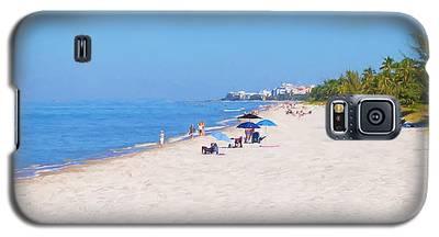 A Day At Naples Beach Galaxy S5 Case