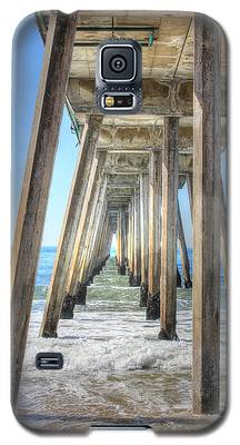 A Pier From Under Galaxy S5 Case