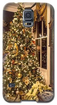 A Vintage Christmas Galaxy S5 Case