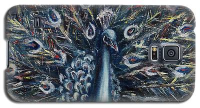 A White Peacock Galaxy S5 Case