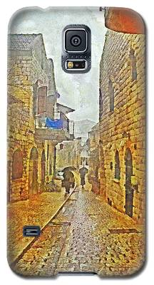 A Winter Morning In Haifa Galaxy S5 Case