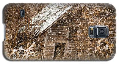 A Winter Shed Galaxy S5 Case
