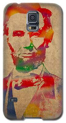 Abraham Lincoln Galaxy S5 Cases