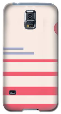 Abstract Minimalistic Landscape Galaxy S5 Case