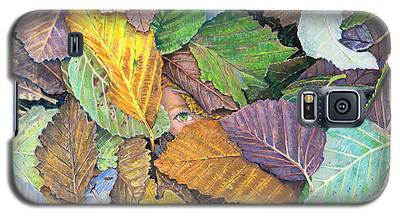 Alder Leaves And Faerie Galaxy S5 Case