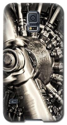Antique Plane Engine Galaxy S5 Case
