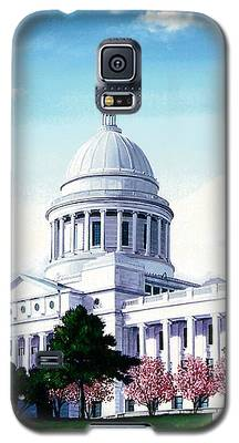 Arkansas Capitol Blossoms Galaxy S5 Case